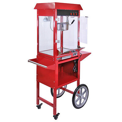 Popcorn Maker Retro Machine & Cotton Candy Floss Making Party Electric Machine 2