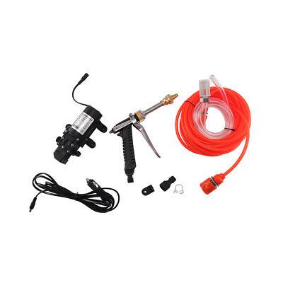 Portable 12V Car High Pressure Washer Water Pump Kit Jet Wash Cleaner Hose UK 2