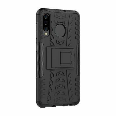 For Samsung Galaxy A20 A30 A50 A70 A10e Fiber Armor Slim Heavy Duty Case Cover 11