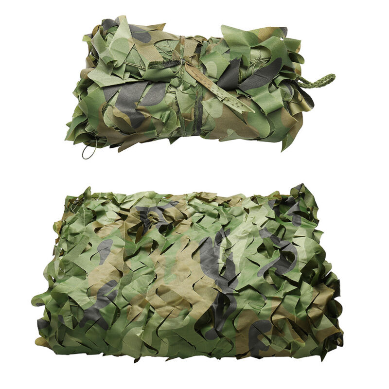 Camo Net Camouflage Netting Hunting Shooting Hide Glare Proof Nets Hide Army CA 11