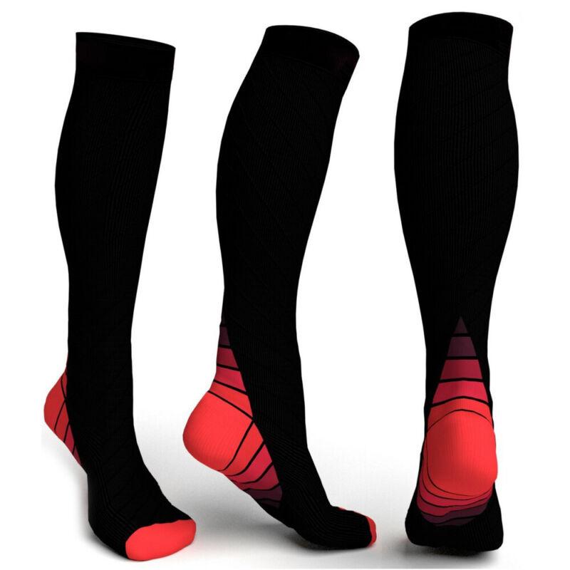 Compression Socks Medical Travel Stockings Running Flight Sleeve Anti Fatigue Bm 7
