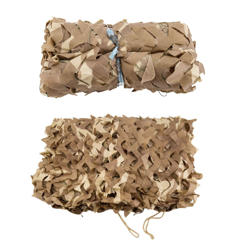 Camo Net Camouflage Netting Hunting Shooting Hide Glare Proof Nets Hide Army CA 9