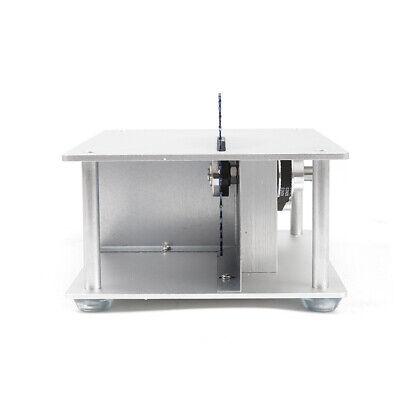 Mini Precision Table Saw DIY Woodworking Lathe Polisher Cutting Machine+3 blades 6