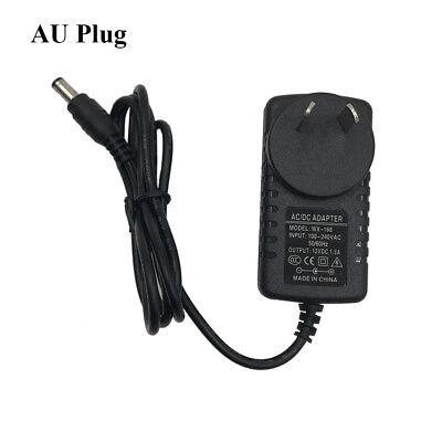 AC100-240V to DC12V/1.5A Power Supply Adapter US/EU/UK/AU Converter 5.5*2.1mm