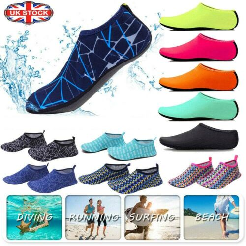 Men Womens Diving Surf Socks Wetsuit Water Aqua Shoes Non Slip Swim Beach Shoes 2