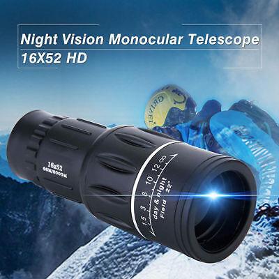 Prismaticos Monoculo telescopio 16x52 Zoom monocular 66M/8000M DÍA Y NOCHE 2