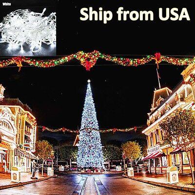 10M 100 LED Christmas Tree Fairy String Party Lights Lamp Xmas Waterproof