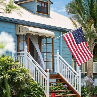 3'x 5' Ft American Flag 420D Nylon Embroidered Stars Brass Grommets US Flag 10
