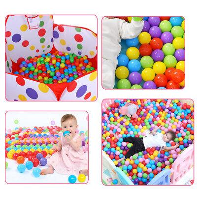 50-1600PCS Soft Plastic Ocean Balls 5.5cm Baby Kids Swim Pool Play Pit Ball Toy 8