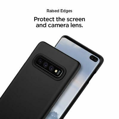 Samsung Galaxy S10 5G S10e S9 S8 Plus Case Genuine SPIGEN Thin Fit Hard Cover 5