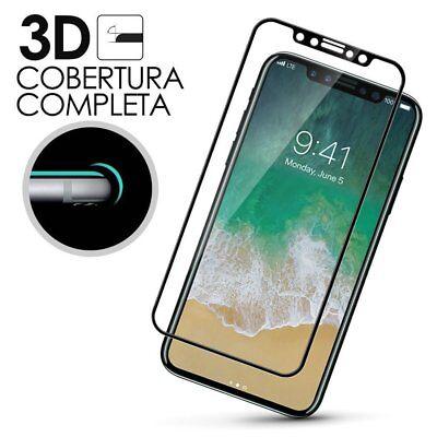 Cristal Templado 3D 5D IPHONE XS - IPHONE 11 PRO Protector CURVO Negro a4290 nt 4