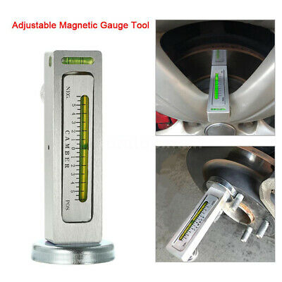 Universal Magnetic Gauge Tool For Car/Truck Camber/Castor Strut Wheel Alignment 5