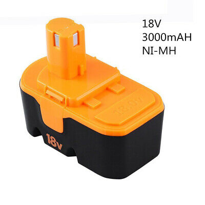 18v 3.0Ah Replace for Ryobi Battery ONE+ P100 P101 1322401 1400672 13022 ABP1801 4