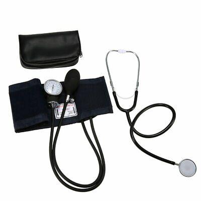 Manuelles Aneroid Oberarm Blutdruckmessgerät +Doppelkopf Stethoskop Kit DHL-BS 7