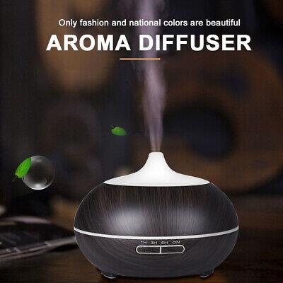 500ml Essential Oil Aroma Diffuser LED Ultrasonic Air Mist Aromatherapy AU Plug 8