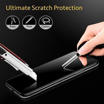 vitre verre trempe film de protection iPhone 11/11 Pro Max/XS/XR/X 8 7 6 LOT/5 5