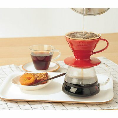 Hario V60 02 Coffee Dripper Ceramic WHITE VDC-02W For 1 - 4 Cup from JAPAN 7