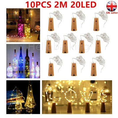 50 100 200 LED Solar Battery Powered Fairy String Lights Garden Party Decor XMAS 12