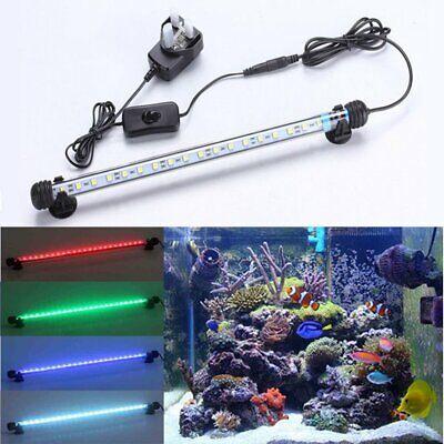Aquarium Fish Tank 5050 SMD RGB White&Blue Color LED Light Bar Lamp Submersible 3