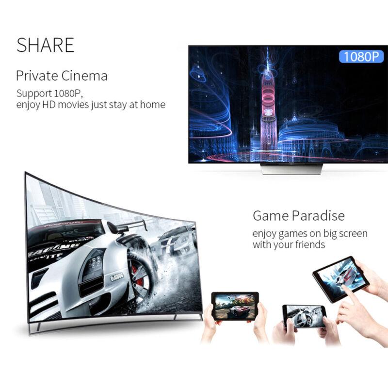 pour Google Chromecast 2 4K HDMI WiFi Media Vidéo Dongle youtube Miracast 4