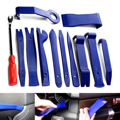 11pcs Set Zierleistenkeil Montagehebel Kunststoff Keil Montagekeil KFZ Werkzeug