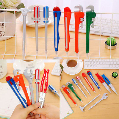 Creative Wrench Tool Ballpoint Pen School Office Stationery Children Kids Gift 12