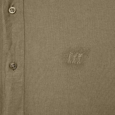 Polo TRUSSARDI o camicia HENRY COTTON'S uomo cotone lino casual sportiva 5