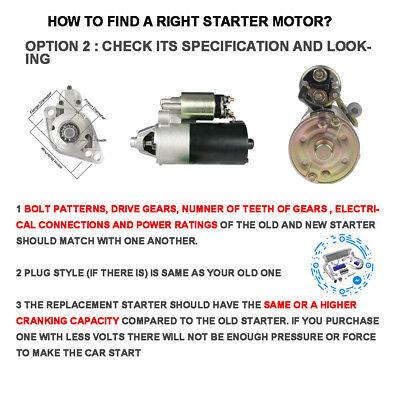 Starter Motor For Ford F100 Cleveland V8 5.8L 351 Auto/Man 1977-1985