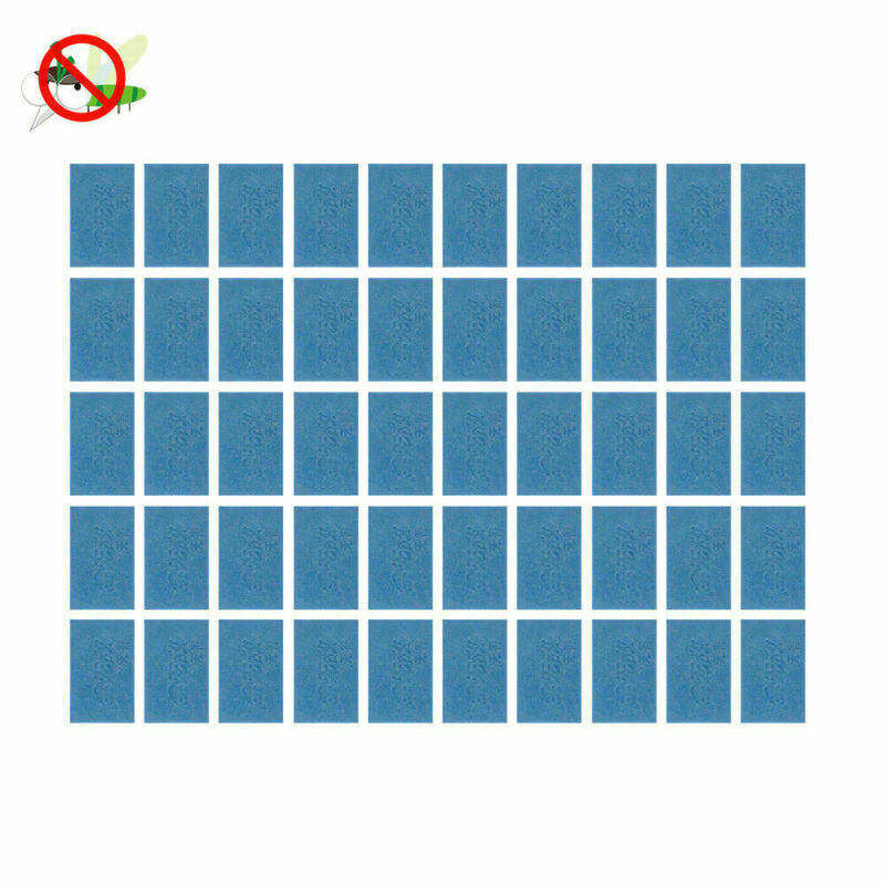 50x Mosquito Repellent Insect Bite Mat Tablets Refills Replace Pest Repeller NEW 3