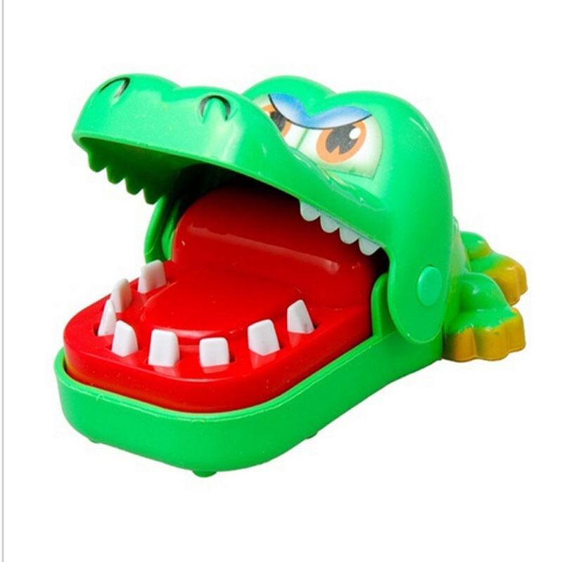 Gift For Kids Children Funny Gags Dentist Bite Finger Game Joke Crocodile Toys 9