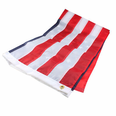 3x5 ft US American Flag Heavy Duty Embroidered Stars Sewn Stripes Grommets Nylon 2