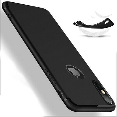 Coque Anti Choc Silicone Protection Pour Apple Iphone 6 6S 7 8 Plus 5S Se Xs Max 10