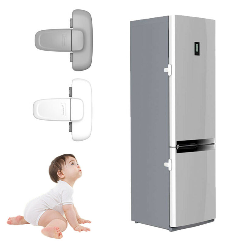 Fridge Guard  Fridge Door Latch Baby Safety Child Lock Strong-Adhesive Tape 2