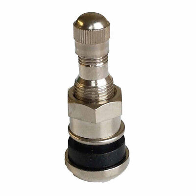4PCS Bolt in steel car wheel tyre valves stems fit alloys include dust caps B2Z 7