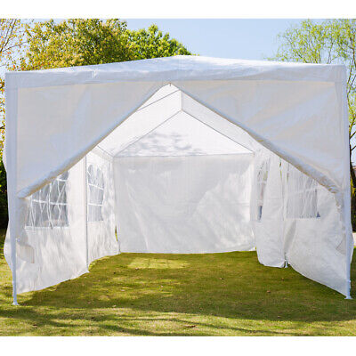 New 3X3m/4m/6m Waterproof Garden Gazebo Party Tent Marquee Awning Canopy Shelter 6