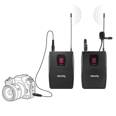 UHF Wireless Microphone Portable Professional Video for Camera Camcorder phone 2