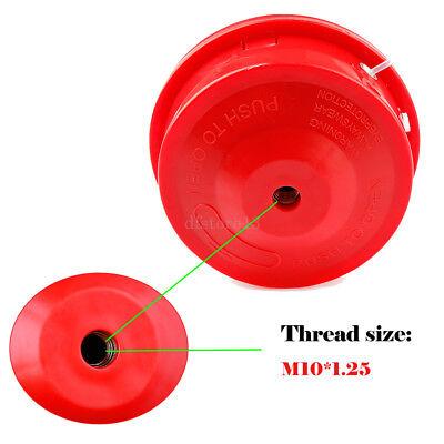 Tête de Fil Nylon Universelle Débroussailleuse Bobine Remplacement Herbe 2.4mm 2