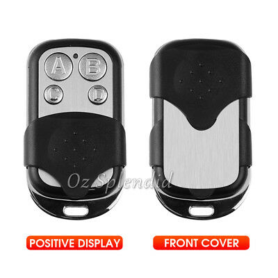 Universal Replacement Garage Door Car Gate Cloning Remote Control Key Fob 433 3