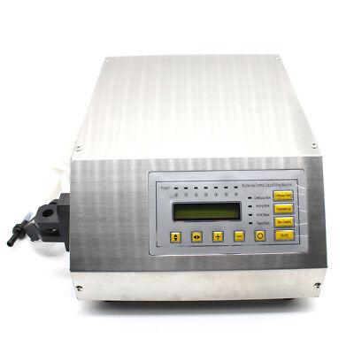220V Neu LCD AUTOMATISCH FÜLLMASCHINE Abfüllmaschine flüssige Abfüllgerät DEU