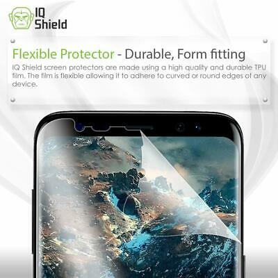 Samsung Galaxy S8 Plus Screen Protector Slim HD Clear Full Coverage Film 2 PACK 2