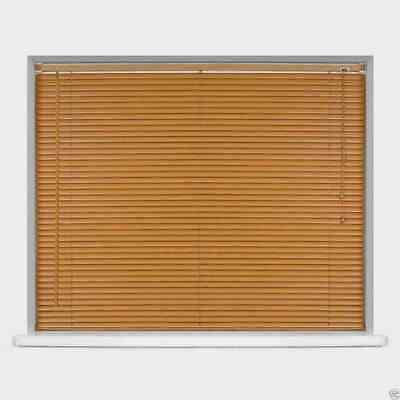 Easy Fit PVC Venetian Window Blinds Long 150 - 210CM DROP STANDARD Trimmable 6