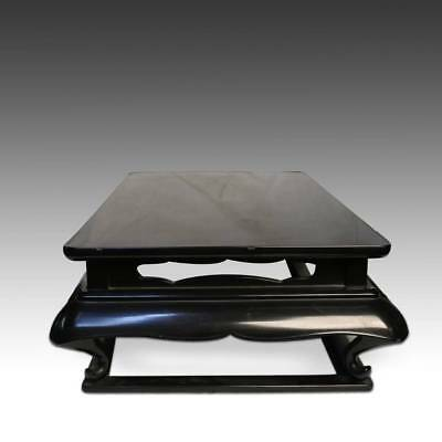 Chinese Or Japanese Kang Style Display Stand Table Cabriole For Antique Buddha 3
