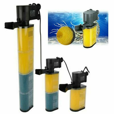 Aquarium Internal Filter Pump Submersible Fish Tank Filtration Pump Tropical 7