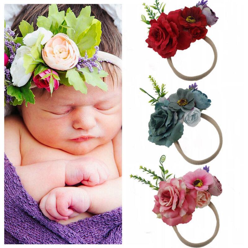 Cute Headband Kid Girls Baby Toddler Flower Hair Band Accessories Headwears Hot 2