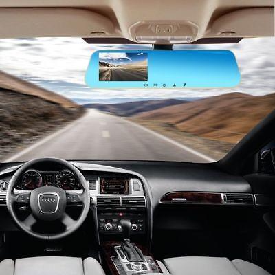 16GB FULL HD in Car Rear View Mirror CCTV Security Dual Camera Recorder DASH CAM 2