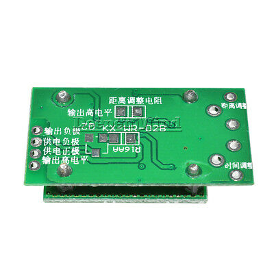 LV002 3 310GHZ 8-15M Doppler Radar Microwave Sensor Switch Module