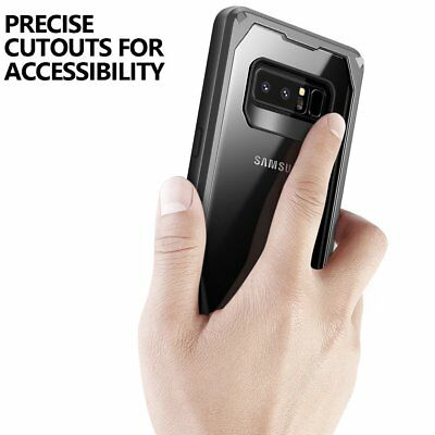 """Poetic Guardian """"Rugged Heavy Duty"""" Case Cover For Samsung Galaxy Note 8 Black 6"""