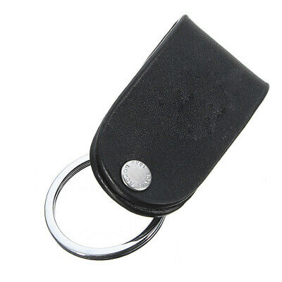 Quick Release Belt Clip Ring Holder Detachable Stainless Steel Leather Key chain 10