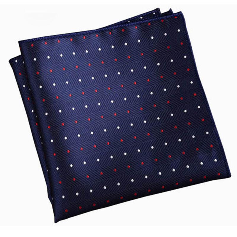 Fashion Men Formal Suit Pocket Square Handkerchief Hanky for Wedding Dress Party 4