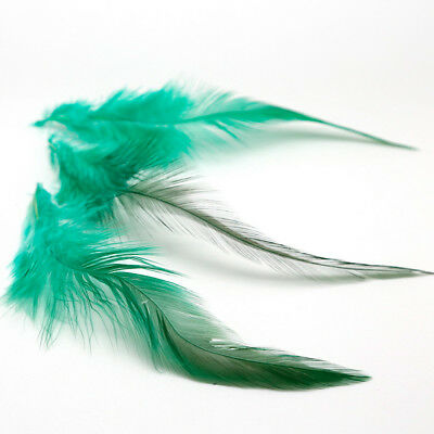 50Pcs Fluffy Rooster Tail Feathers For DIY Craft/Dress/Carnival Party Decoration 10